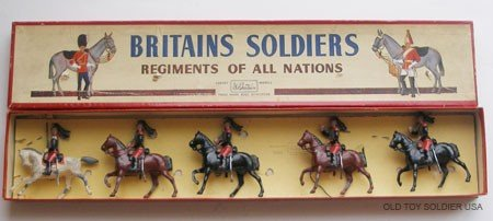 20: Britains Set # 138 French Cuirassiers - Box