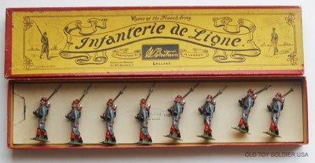 21: Britains Set # 141 French Infanterie de Ligne - Box