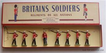 49 Britains Set  1633 Canadian Light Infantry  Box