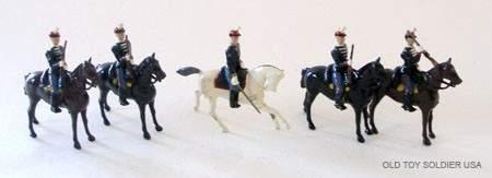 94 Britains Set  190 Belgian Cavalry