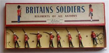 193 Britains Set  1633 Canadian Light Infantry Box