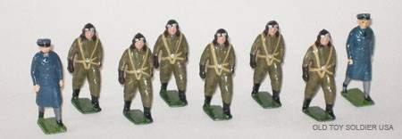356 Britains Set  1894 Royal Air Force Pilots etc