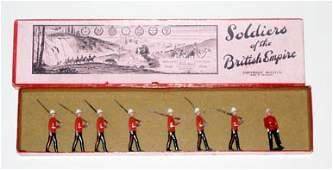 454 Britains Set  1633 Canadian Light Infantry   Box