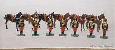 472 Britains From Set  182 11th Hussars with Horse