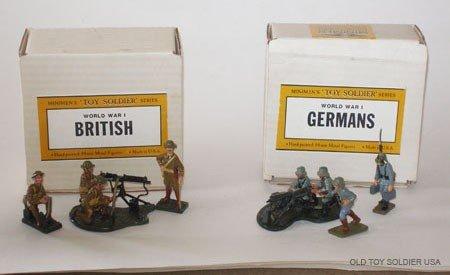 1005: Minimen Set # 1 & Set # 2  Machine Guns - Boxes