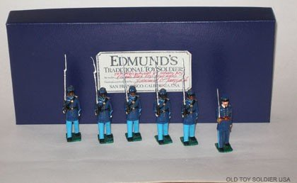 1006: Edmunds 54th Mass. Shaw's Colored  - Boxes
