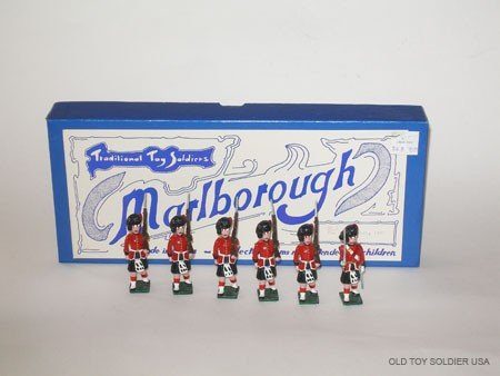 1020: Marlborough Set # M 7 The Black Watch - Box