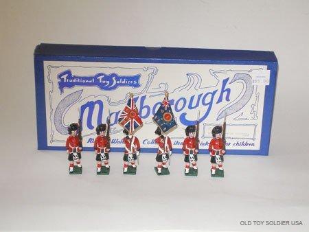 1021: Marlborough Set # M 8 Black Watch Colour Party -