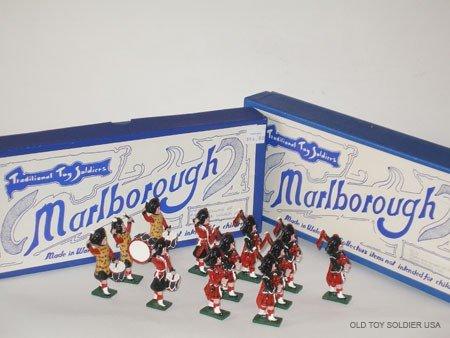 1022: Marlborough Set Numbers M 9 & M 10 Black Watch Pi