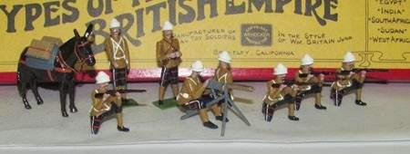 1144 Hocker KOSB Maxim Gun Detachment Set 3137