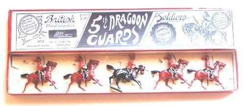 1: Britains Set # 35th Dragoons Guards with Box