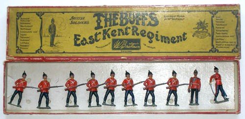 3: Britains Set # 16 East Kent Regiment- The Buffs.