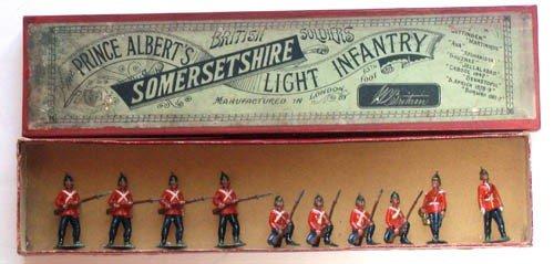 4: Britains Set # 17 Somerset Light Infantry