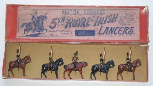5: Britains Set # 23 SCARCE 5th Royal Irish Lancers