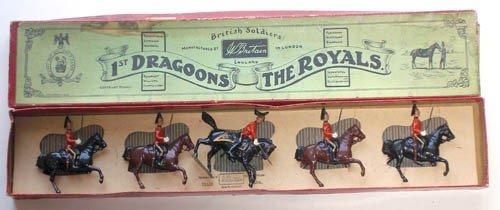 7: Britains Set # 31 1st Dragoons, The Royals - Boxed