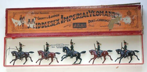 9: Britains Set # 83 Middlesex Yeomanry Pre War 3rd