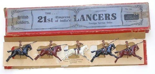 10: Britains Set # 94. 21st Lancers