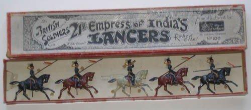 11: Britains Set # 100 21st Empress of India's Lancers