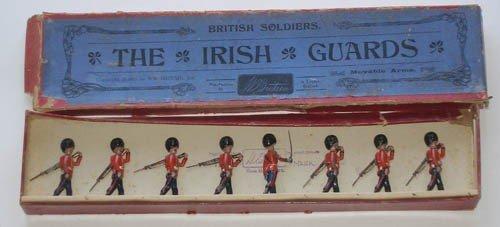 12: Britains Set # 107 Irish Guards Marching