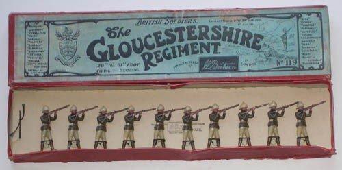 14: Britains Set # 119 Gloucestershire Regiment
