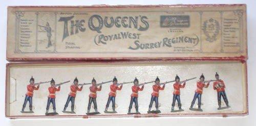 16: Britains Set # 121 Queens Royal West Surrey Rgt