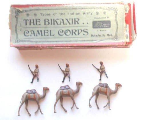 17: Britains Set # 123 Bikanir Camel Corps.