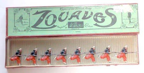 19: Britains Set # 142 Zouaves Charging