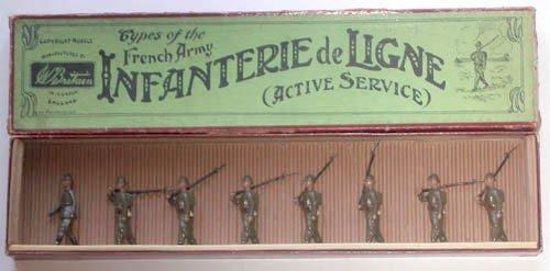 22: Britains Set # 192 French Infanterie de Ligne