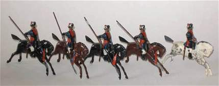 283 Britains  46 Hodsons Horse Indian Army Cavalry