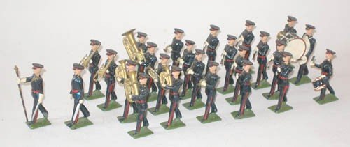483: Britains Set # 2093 RARE Berkshire Regiment Band -