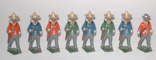 502: Britains Set # 186 Mexican Infantry