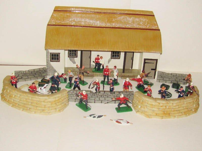 1130: Trophy Zulu Wars Rorkes Drift Store House