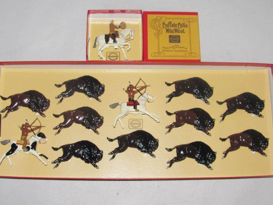 1433: Wm Hocker: #231 Buffalo Bill & Buffalo Hunt