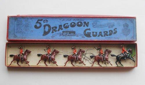 2: Britains Set # 3 Fifth Dragoon Guards.