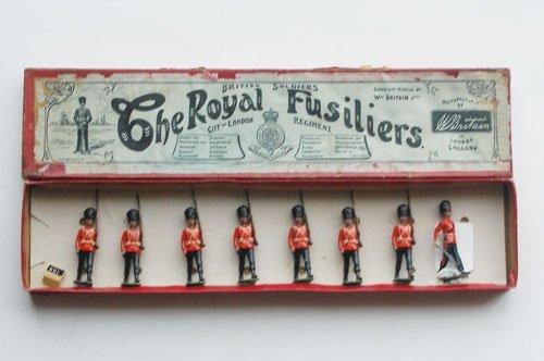 3: Britains Set # 7 Royal Fusiliers.