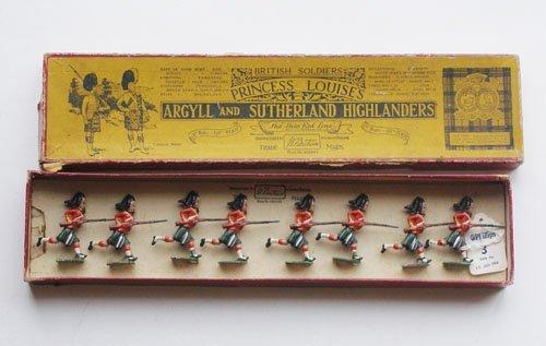 7: Britains Set # 15 Argyll and Sutherland Highlanders