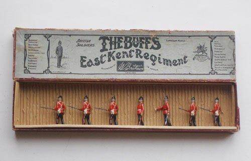 8: Britains From Set # 16 East Kent Regiment