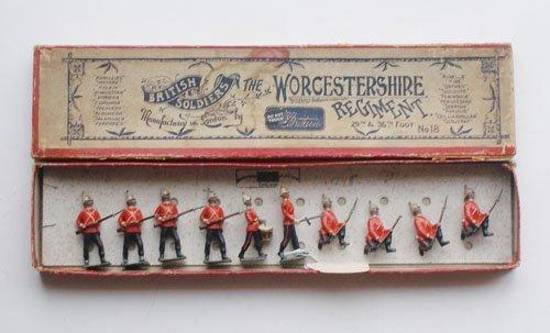 9: Britains Set # 18 Worcestershire Regiment