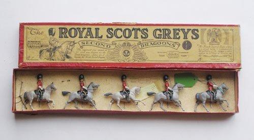 11: Britains Set # 32 Royal Scots Greys