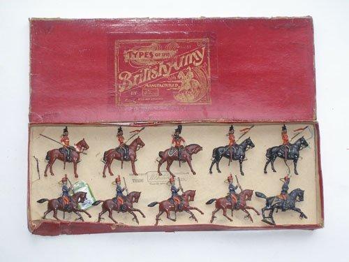 16: Britains Set # 51 British Army Cavalry Display