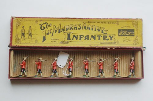 18: Britains Set # 67 First Madras Infantry.