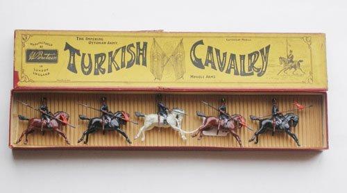 20: Britains Set # 71 Turkish Cavalry RARE