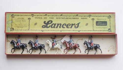 21: Britains Set # 75 Austro Hungarian Lancers