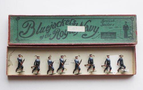 23: Britains Set # 78 Royal Navy Bluejackets