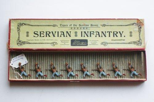 49: Britains Set # 173 Servian Infantry