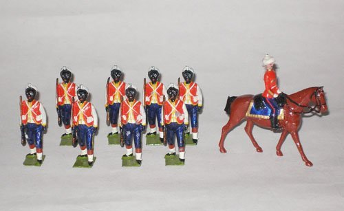 117: Britains Set # 19 West India Regiment with Mounted