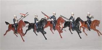 124 Britains Set  81 17th Lancers Ulandi