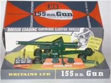 355 Britains Set 9745 155 mm Gun with Shells