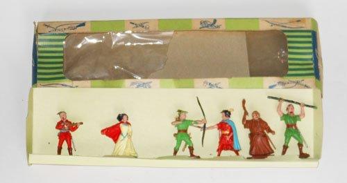 509: Cherilea RARE Plastic Robin Hood Set