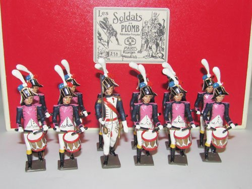 1007: Mignot  Napoleonic Drum Brigade  of the Grenadier
